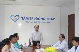 Lãnh đạo tỉnh thăm và chúc tết Bệnh viện đa khoa Tâm Trí Đồng Tháp