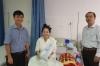 Ban giám đốc Bệnh viện Tâm Trí chúc Tết bệnh nhân