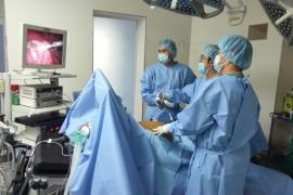 Cắt u dạ dày 3,5 cm bằng phương pháp mổ nội soi