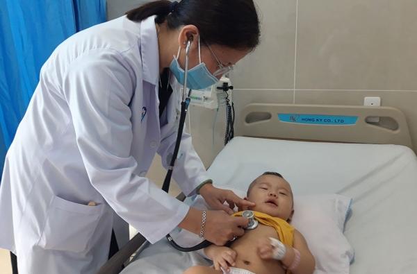 Bệnh viêm phổi ở trẻ em, nên phát hiện càng sớm càng tốt